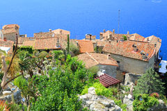 Village d'Eze Photographie stock libre de droits