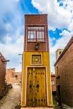 Village 03 d'héritage d'Abyaneh photo libre de droits