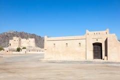 Village d'héritage au Foudjairah Image stock