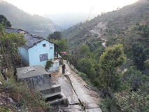Village d'Inde d'Uttarakhand photos libres de droits