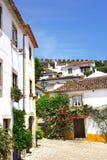 Village d'Obidos chez le Portugal. Photo libre de droits