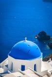 Village d'Oia sur l'île de Santorini, Grèce Photo libre de droits