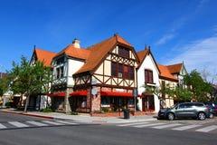 Village danois dans Solvang la Californie image stock