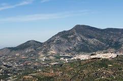 Village dans la montagne Photo libre de droits