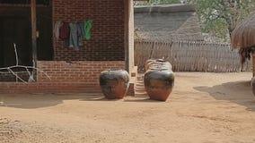 Village dans la région de Bagan clips vidéos