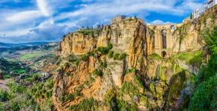 Village dans les montagnes Photographie stock libre de droits