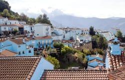 Village dans les montagnes Images stock