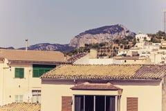 Village dans Majorca Image stock