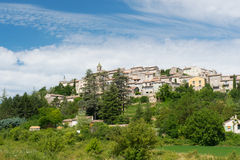 Village Dauphin in France Stock Photography