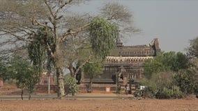 Village de Bagan banque de vidéos