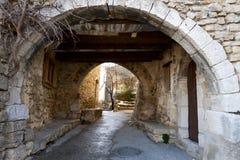 Village de Bargème, France Photos stock