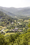 Village de Benasque Images stock