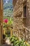 Village de Biniaraix sur Majorque Photos stock