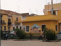 Village de Brucoli Photos libres de droits
