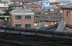 Village de Bukchon Hanok à Séoul Image libre de droits
