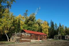 village de cabine image libre de droits