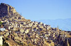 Village de Cappadocia Photographie stock libre de droits