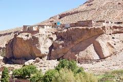 Village de Caspana, Chili Photo stock