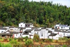 Village de Changxi, le village antique de style de Huizhou en Chine image libre de droits