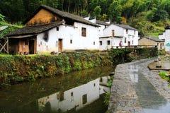 Village de Changxi, le village antique de style de Huizhou en Chine photo stock