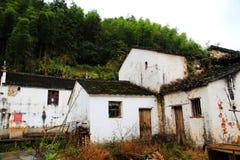 Village de Changxi, le village antique de style de Huizhou en Chine images libres de droits
