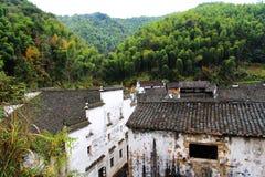 Village de Changxi, le village antique de style de Huizhou en Chine Photos libres de droits