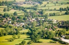 Village de Charlwood, Surrey Images stock