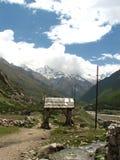 Village de Chitkul Photographie stock libre de droits