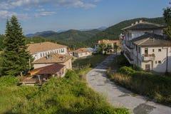 Village de Chokmanovo Photographie stock