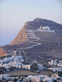 Village de Chora Photographie stock libre de droits
