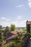 Village de Cordes Photo stock