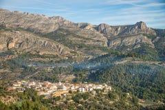 Village de Costa Blanca Photos libres de droits