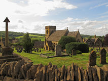 Village de Cotswolds Images libres de droits