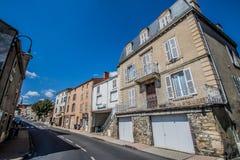 Village de Coudes, France Photographie stock libre de droits
