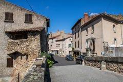 Village de Coudes, France Image libre de droits