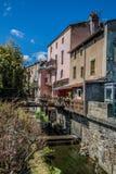 Village de Coudes, France Images libres de droits