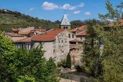 Village de Coudes, France Photos stock