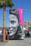 Village de course d'océan de Volvo Images libres de droits