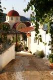 Village de Cretian de Kalo Horio photographie stock libre de droits