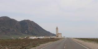 Village de croisement de route photographie stock libre de droits