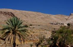 Village de désert de l'Oman Photos stock
