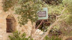 Village de Dana, réserve naturelle de Dana en Jordanie photo stock