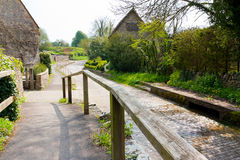 Village de Dorset Photographie stock libre de droits