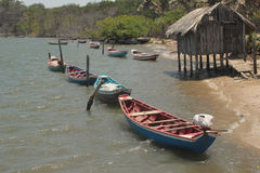 Village de Fisherman's Photo stock