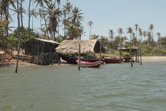 Village de Fisherman's Image libre de droits