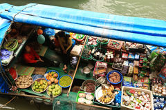 Village de flottement Photos libres de droits