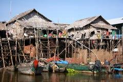 Village de flottement Photo libre de droits