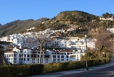 village de frigiliana Espagne Images libres de droits