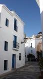 village de frigiliana Espagne de constructions Image stock