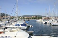 Village de Galician de marin photos libres de droits